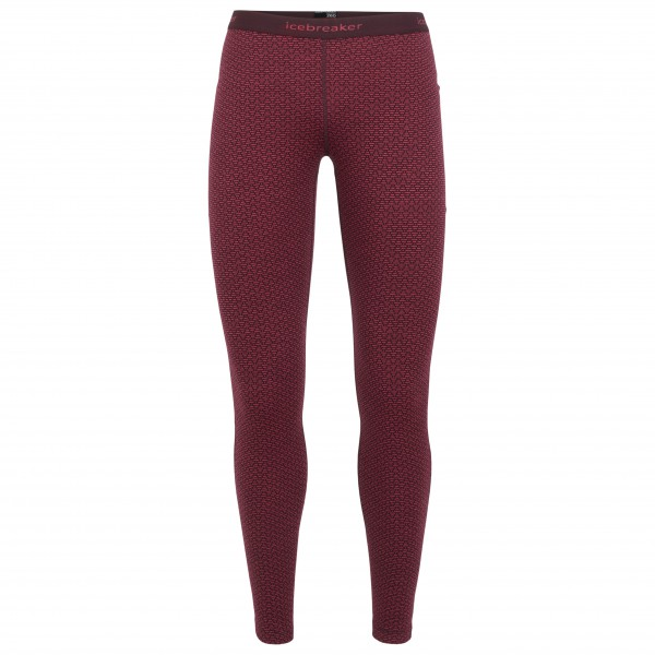 Icebreaker - Women's 250 Vertex Leggings Mountain Dash