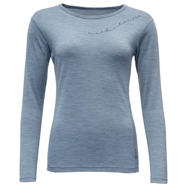 Devold - Muldal Woman Shirt with Print - Merino undertøj