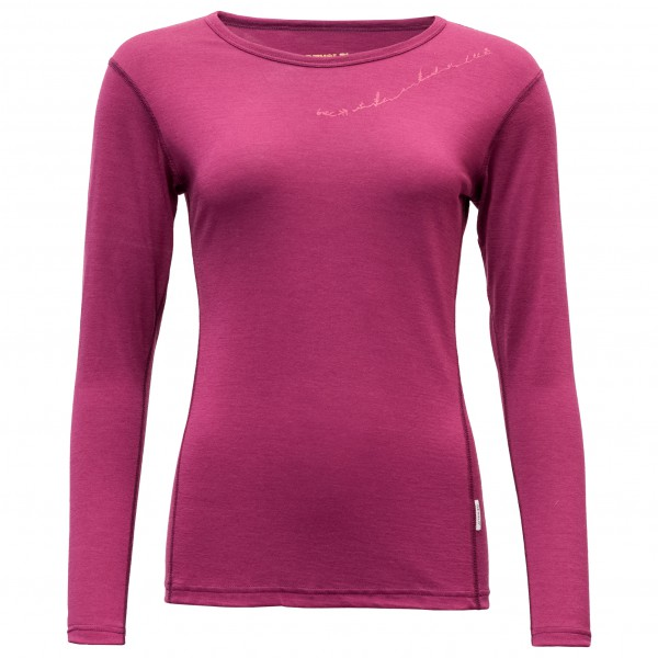Devold - Muldal Woman Shirt with Print - Merinounterwäsche
