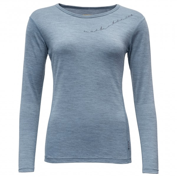Devold - Muldal Woman Shirt with Print - Ropa interior merino