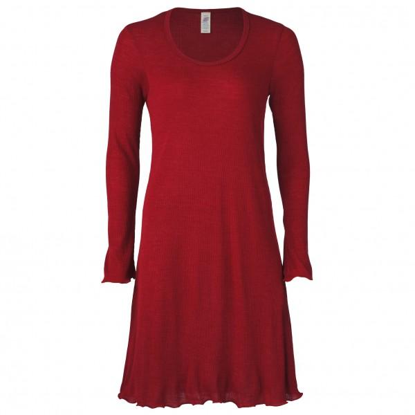 Engel - Women's Nachthemd mit Langarm - Merinovilla-alusvaatteet