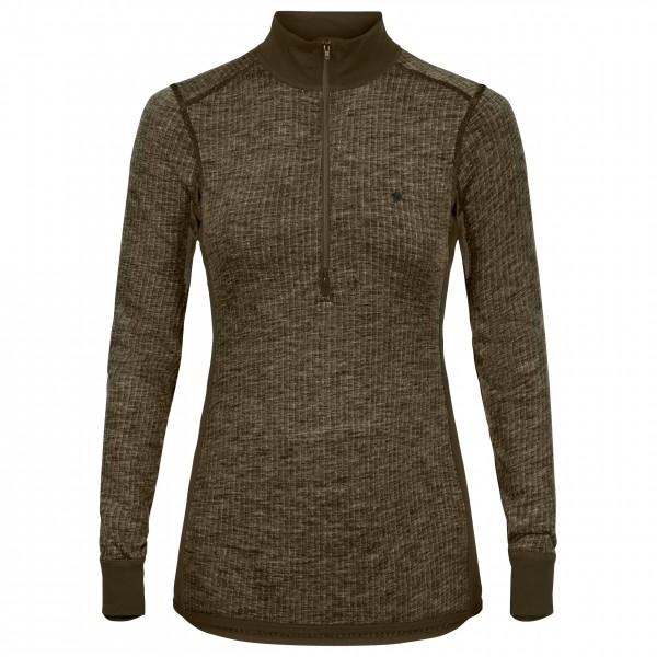 Fjällräven - Women's Värmland Woolterry Half Zip - Merino undertøj