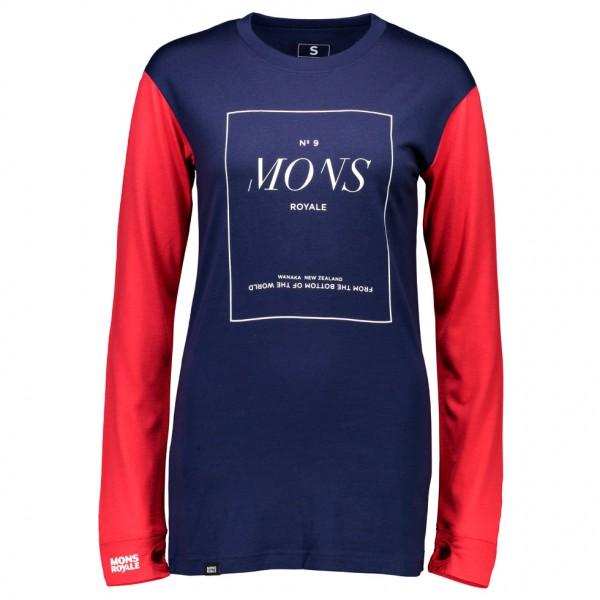 Mons Royale - Women's Boyfriend L/S Stack - Underkläder merinoull