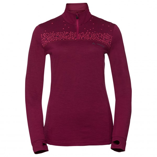 Vaude - Women's Base Halfzip - Sous-vêtement mérinos