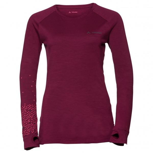 Vaude - Women's Base L/S Shirt - Ropa interior merino