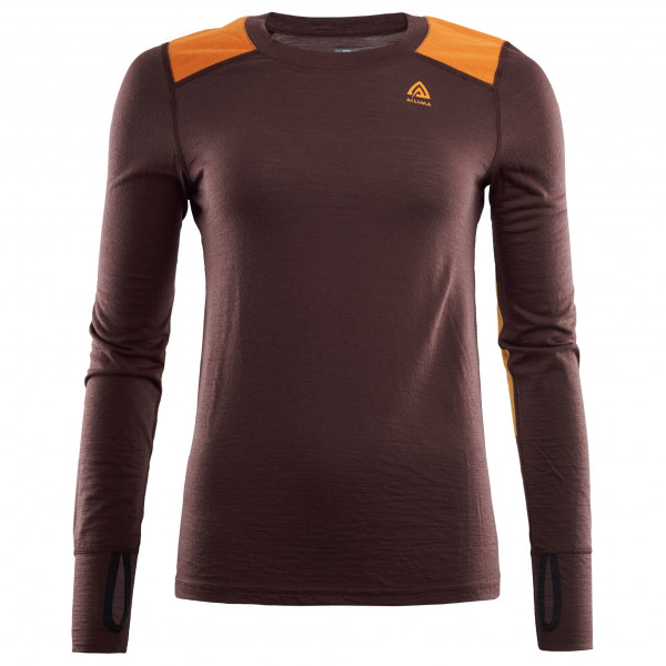 Aclima - Women's LightWool Reinforced Crewneck - Merino base layer