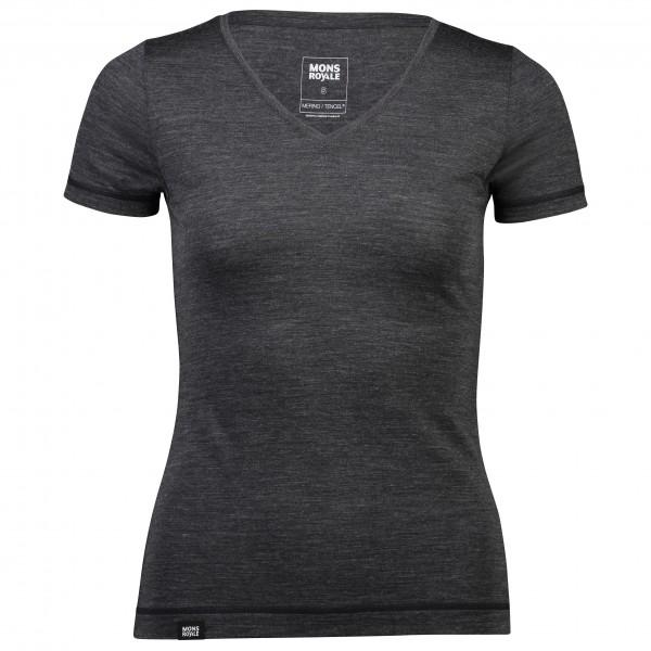 Mons Royale - Women's No Ordinary V-Neck Tee - Merino ondergoed