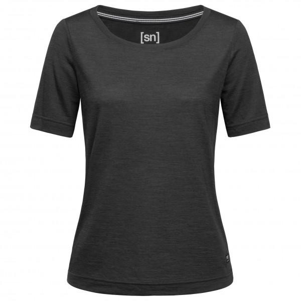 SuperNatural - Women's Essential Scoop Tee - Merino undertøj