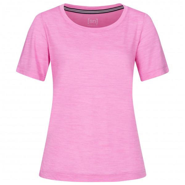 SuperNatural - Women's Essential Scoop Tee - Underkläder merinoull