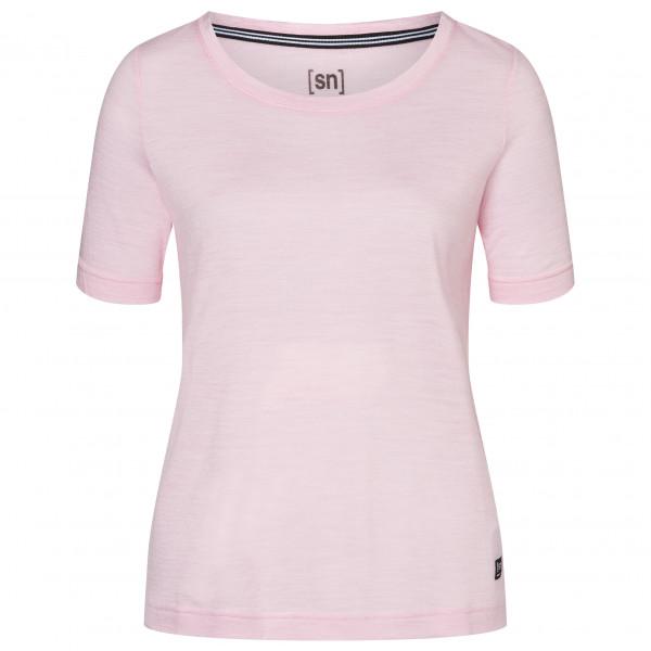 super.natural - Women's Essential Scoop Tee - Merino undertøj