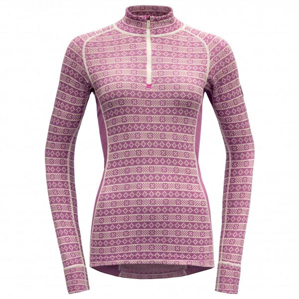 Devold - Women's Alnes Half Zip Neck - Underkläder merinoull
