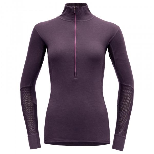 Devold - Women's Wool Mesh Half Zip Neck - Merinovilla-alusvaatteet