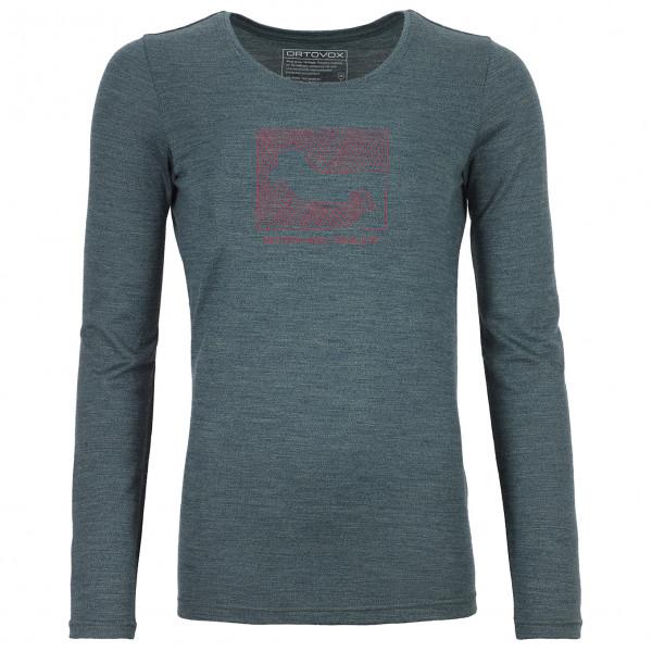 Ortovox - Women's 185 Merino Contrast L/S - Underkläder merinoull