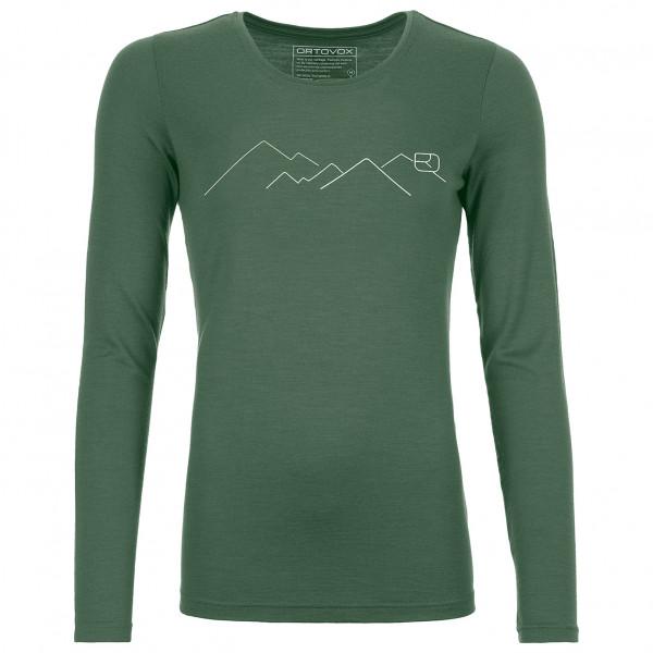 Ortovox - Women's 185 Merino Mountain L/S - Ropa interior merino