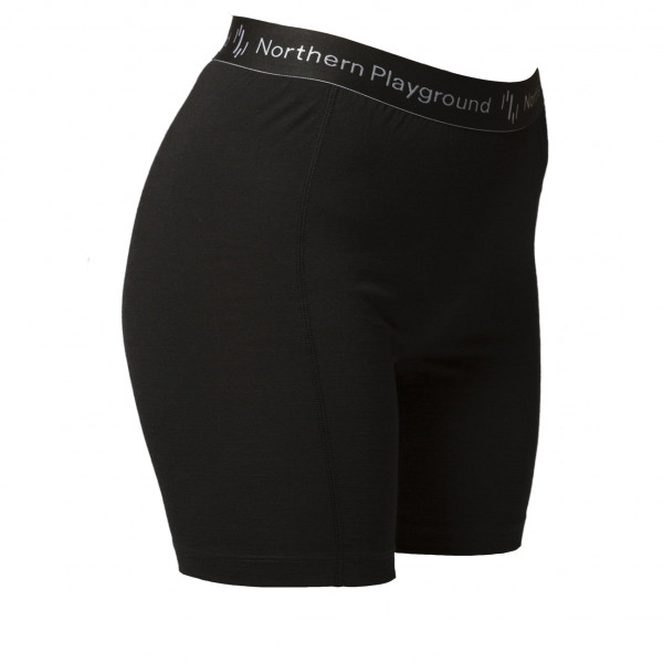 Northern Playground - Women's Boxer Organic Wool and Silk - Merino-ondergoed