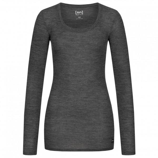 super.natural - Women's Rib L/S - Sous-vêtement mérinos