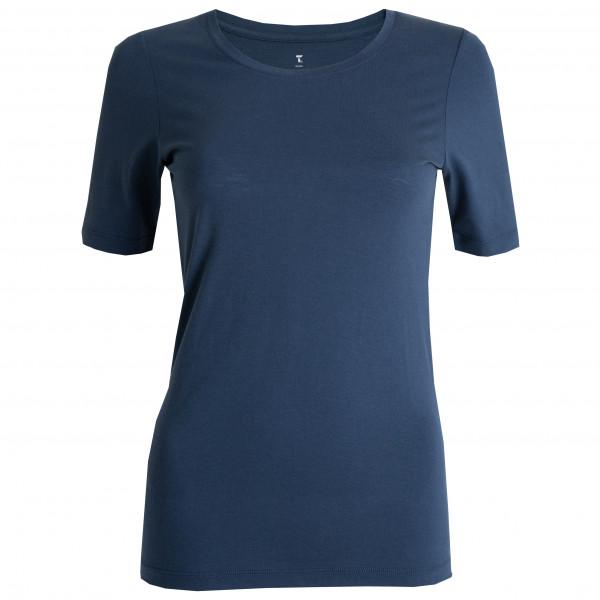 Tufte Wear - Women's Light Wool Crew Neck Tee - Merino base layer