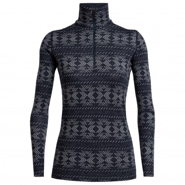 Icebreaker - Women's 250 Vertex L/S Half Zip Crystalline - Underkläder merinoull