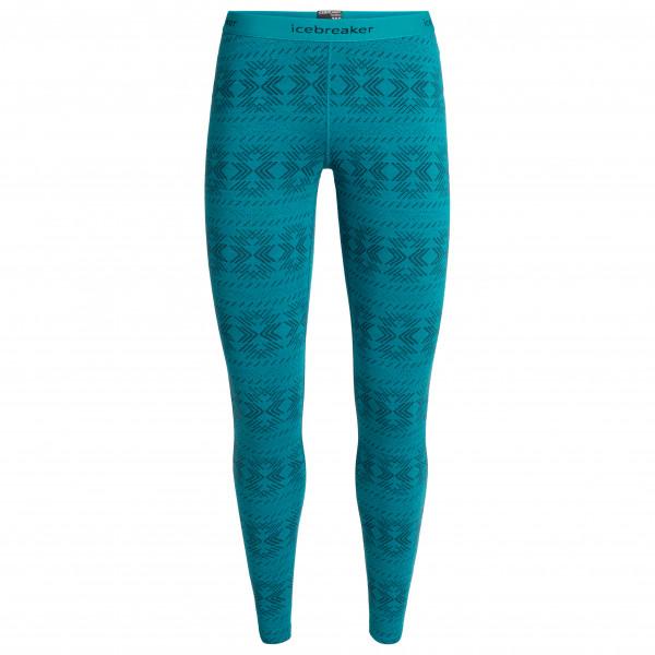 Icebreaker - Women's 250 Vertex Leggings Crystalline - Underkläder merinoull