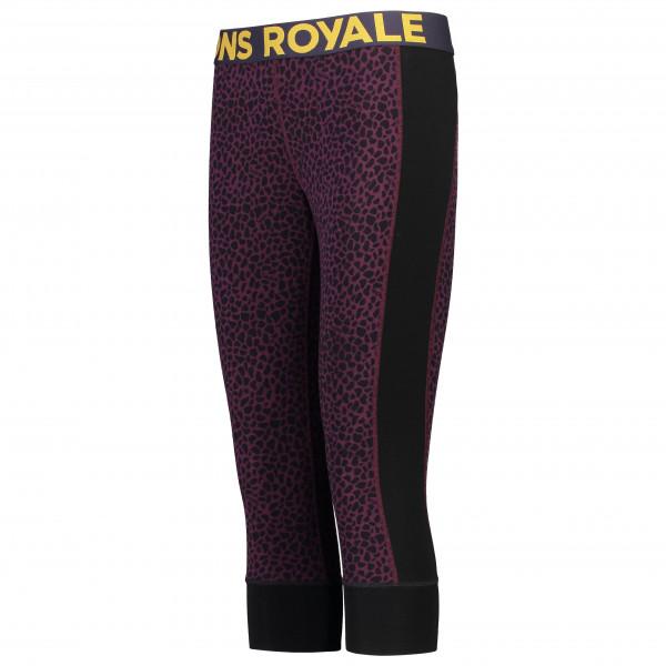 Mons Royale - Women's Cascade Merino Flex 200 3/4 Legging - Underkläder merinoull