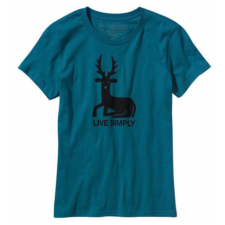 Patagonia - Women's Live Simply Deer T-Shirt