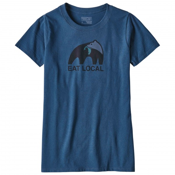 Patagonia - Women's Eat Local Upstream Responsibili-Tee - T-paidat