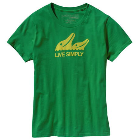 Patagonia - Live Simply Dolphins T-Shirt