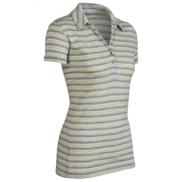 Icebreaker - Women's SF200 Stripe Tech Polo - Poloshirt