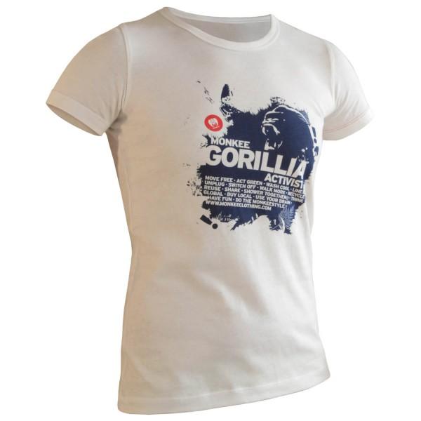 Monkee - Women's Gorilla T - T-Shirt+Halstuch