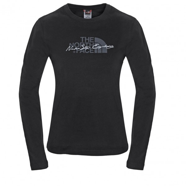 The North Face - Women's L/S Statement Tee - Longsleeve