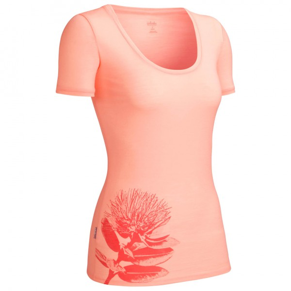 Icebreaker - Women's Tech SS Scoop Pohutukawa - T-Shirt