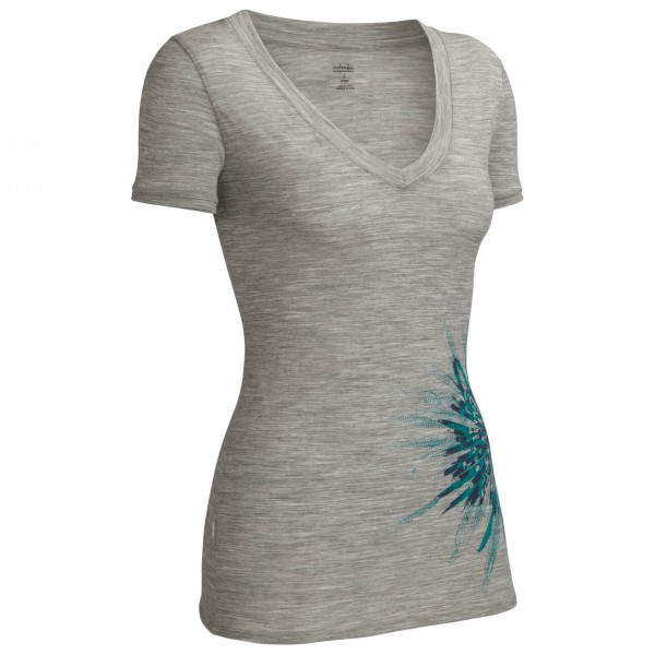 Icebreaker - Women's Tech SS V Chrysanthemum - T-Shirt