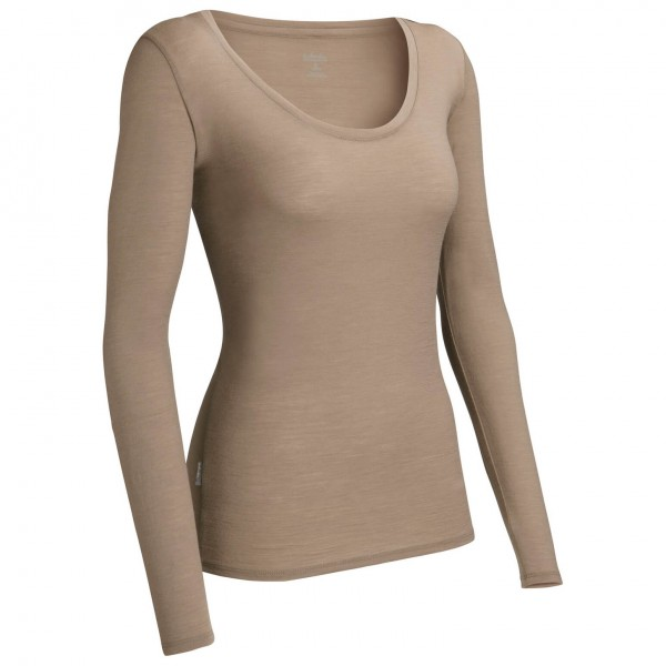 Icebreaker - Women's Tech LS Scoop - Longsleeve
