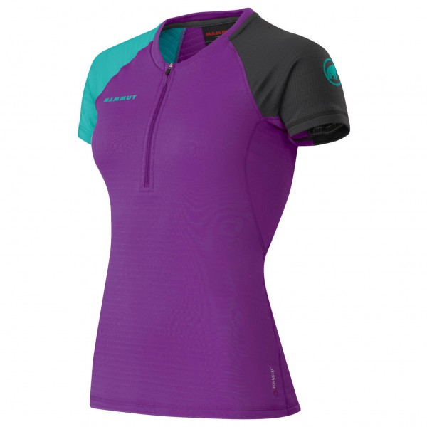 Mammut - Women's Illiniza Zip-T - T-Shirt