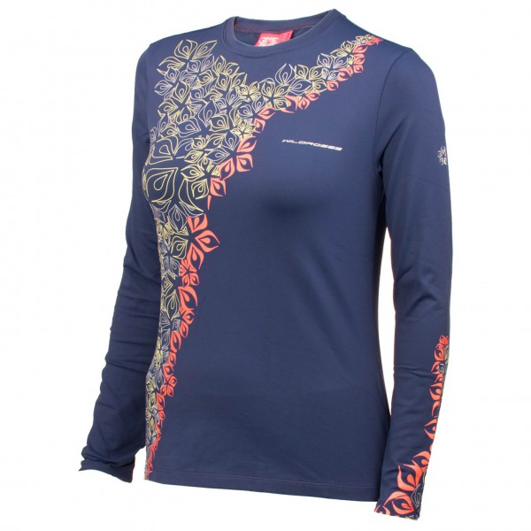 Wild Roses - Women's Lilian WR Logo R-Neck Shirt