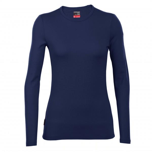Icebreaker - Women's Tech Top LS Crewe - Long-sleeve