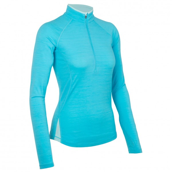 Icebreaker - Women's Pace LS Zip - Manches longues