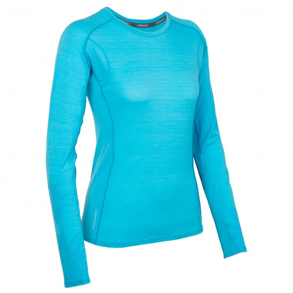 Icebreaker - Women's Flash LS Crewe - Longsleeve