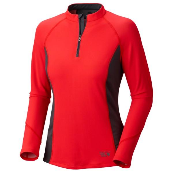 Mountain Hardwear - Women's Aliso L/S Zip T - Longsleeve