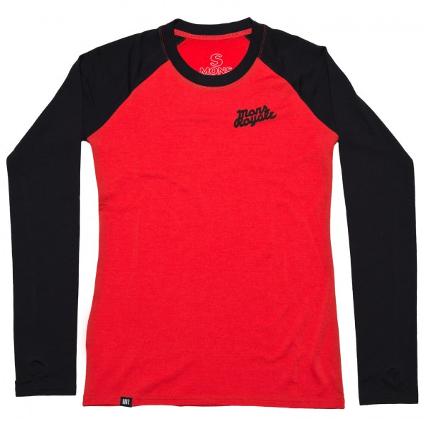 Mons Royale - Women's The Raglan LS - Longsleeve
