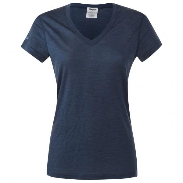 Bergans - Women's Bloom Wool Lady Tee - T-skjorte