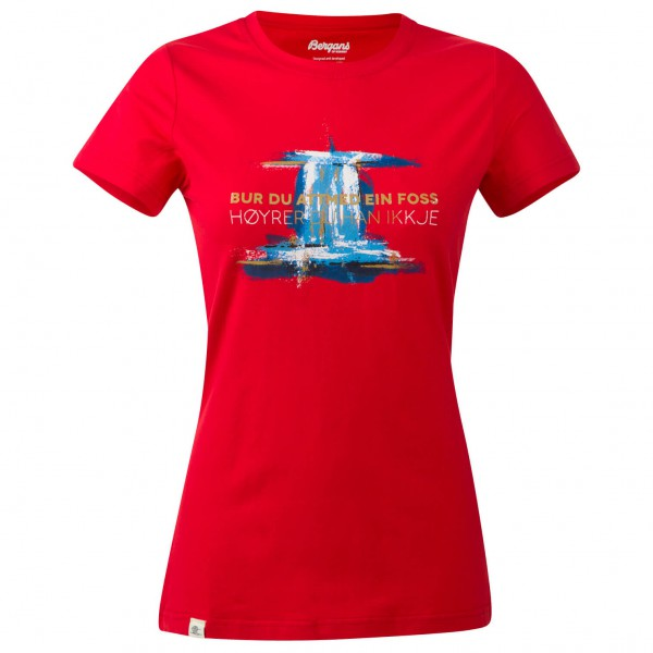 Bergans - Women's Foss Lady Tee - T-Shirt