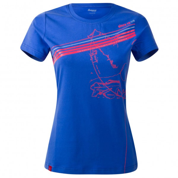 Bergans - Women's Explorer Lady Tee - T-Shirt