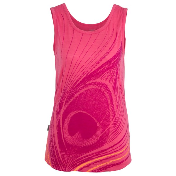 Icebreaker - Women's Willow Tank Feather - Toppi