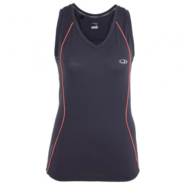 Icebreaker - Women's Flash Tank - Toppi