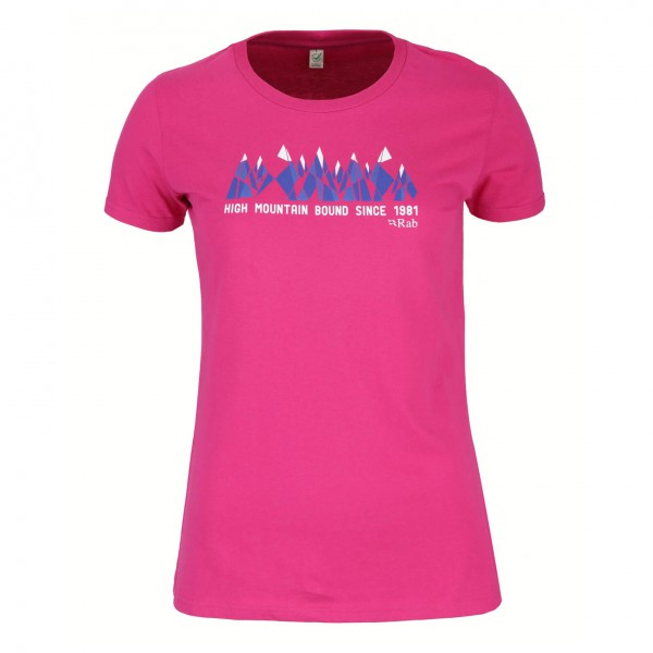 Rab - Women's High Mountain Tee - T-paidat