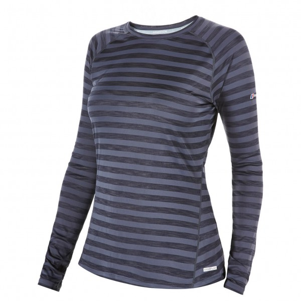 Berghaus - Women's Tech Tee Stripe - Long-sleeve