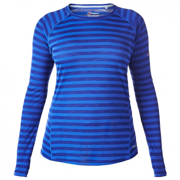 Berghaus - Women's Tech Tee Stripe - Long-sleeve