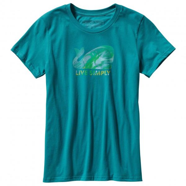 Patagonia - Women's Live Simply Geometric Whale T-Shirt