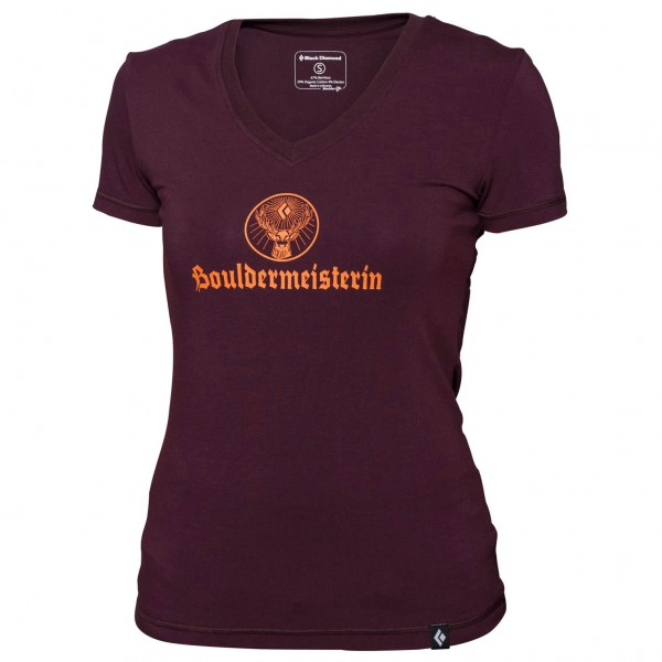 Black Diamond - Women's Bouldermeisterin Tee - T-paidat